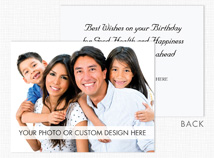 Custom Greeting Card (Horizontal, Value Size, Flat)